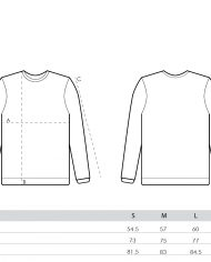 size guide – men sweatshirts